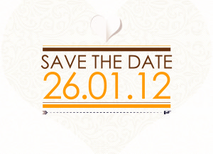 Wedding Save the Date Card