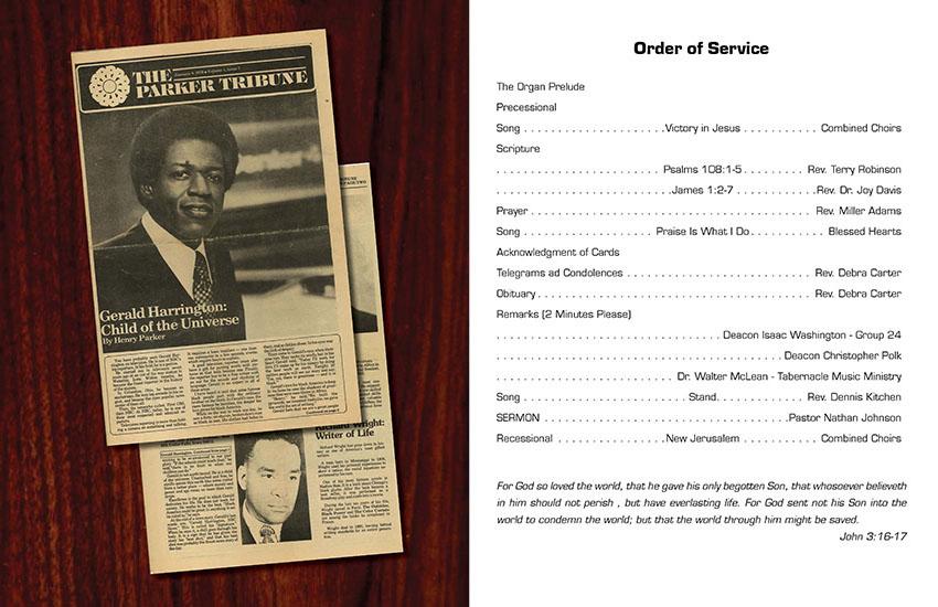 Magazine Style Obituaries - deetoo Design